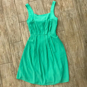 Sleeveless Woven Short Dress with Back Tie