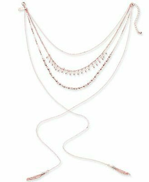 NWT INC International Concepts Rose Gold Tone Imitation Pearl Necklace