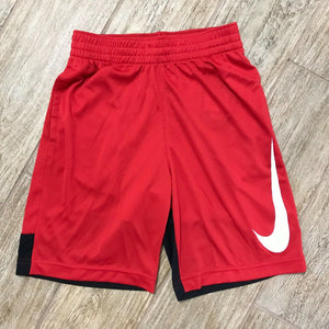 NEW Nike Boys Dri-FIT Basketball Shorts, Red Size M