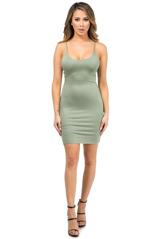 Dallas Double Layered Tank Dress