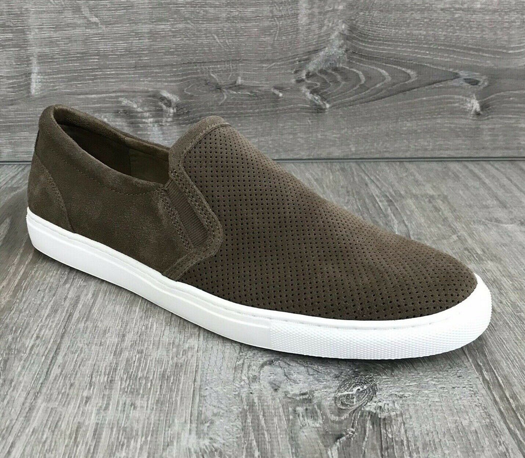 NIB $69 Bar III Men's Brant Slip-On Sneakers, Taupe 9.5, 10.5US