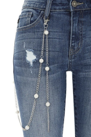 Martha Ankle Distressed Skinny Jeans