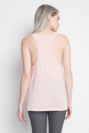 "Soft ""Fancy"" Flare sleeveless Tank Top"