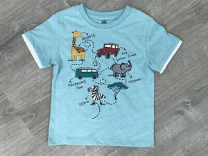 NEW Kids Headquarters Boys Graphic Print T-Shirt, Sz 5, 6, 7