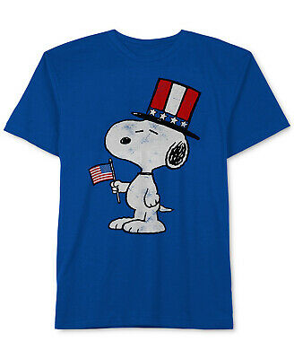 NEW PEANUTS Toddler Boys Snoopy-Print Cotton T-Shirt