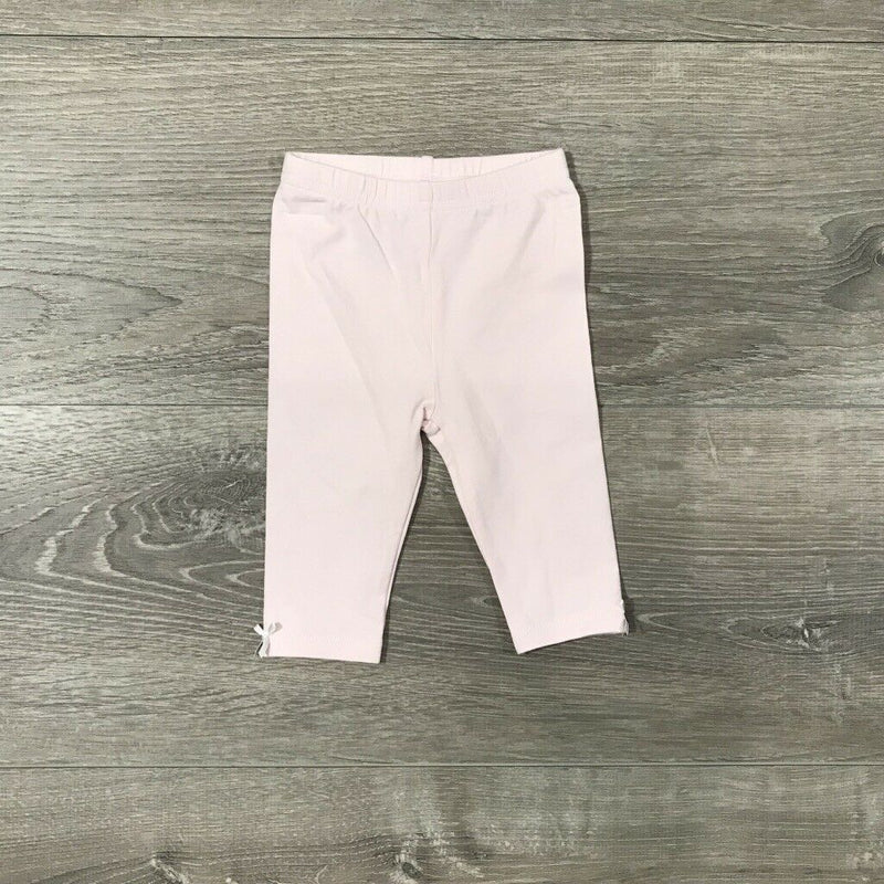 NWT First Impressions Baby Girls Pink Leggings, Sz. 0-3M