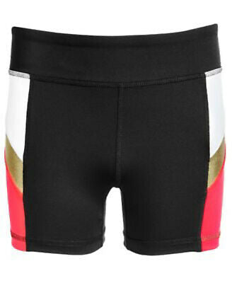 NEW Ideology Big Girls Colorblocked Compression Shorts, Sz. S, L