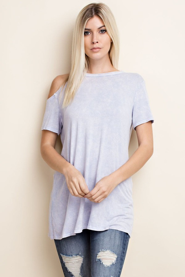 Joselyn Mineral Washed Knit Top