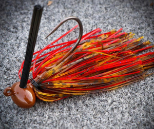 Wire Tied Football Jig