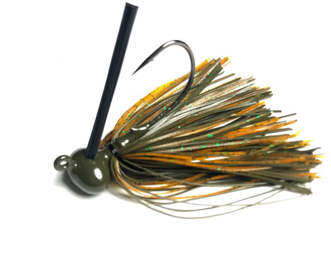 The Classic Craw - Custom Wire Tied Jigs for Bass Fishing