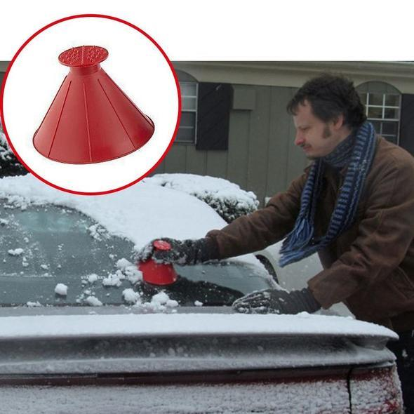 Scrape a Round Magic Ice Scraper-(Limited time 70% off )