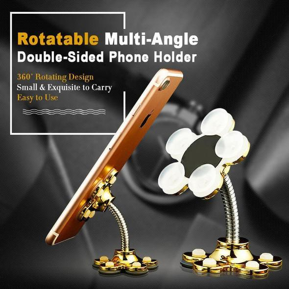 Rotatable Multi-Angle Double-Sided Phone Holder【Buy 1 get 1 free for a limited time】