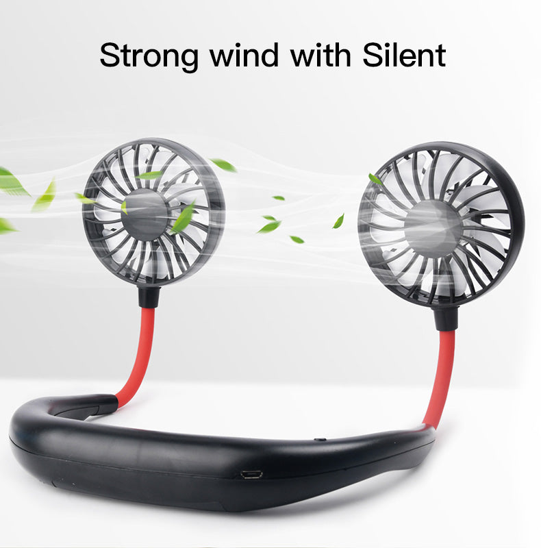 50% Off Today Hands-Free USB charging Neckband Fan Buy Two Free Shipping