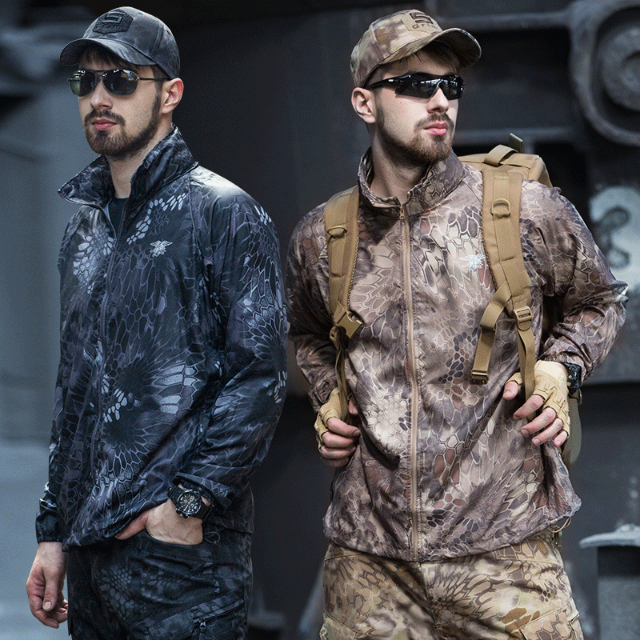 Military Waterproof Quick Drying Windbreaker