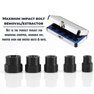 【Half price promotion】Impact Bolt & Nut Remover Tool 10 pieces/Set