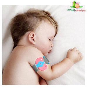 Baby's Wearable Digital Thermometer Monitor
