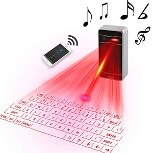 Futuristic AGS Wireless Laser Keyboard for Mobile Phones