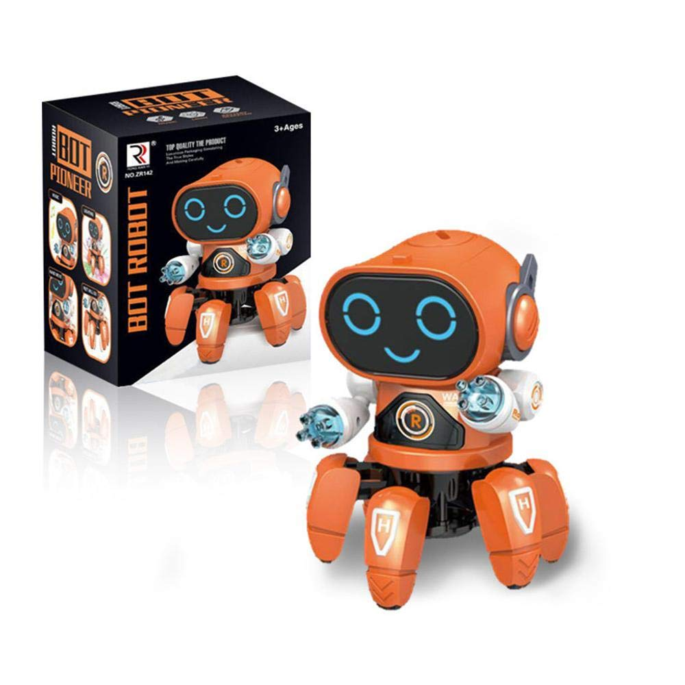 (45%OFFTODAY!!)Six-legged dancing robot