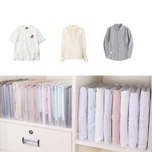 Stackable pants shirt t-receive artifact folder clothes finish board
