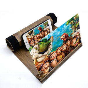 2019 New HD Stereoscopic Mobile Phone Screen Magnifier