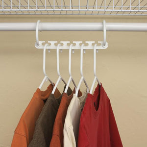 (80% discount today) Magic Hangers closet saves space (plastic and metal)