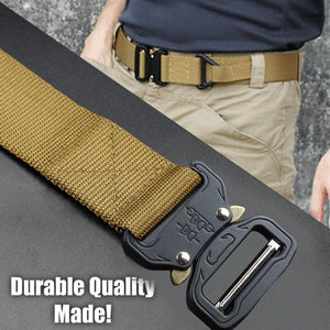 "Cobra Quick Release Buckle Cobra Belt – 1.5"" Nylon Belt Everyday Belt"