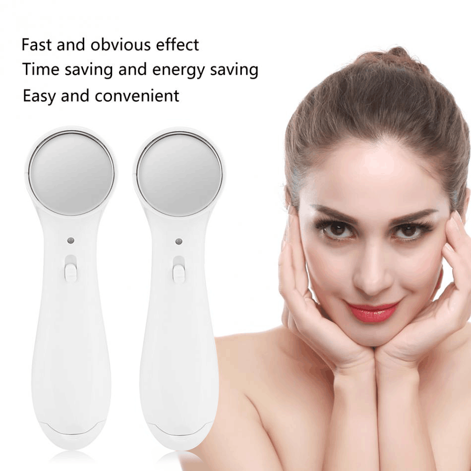 Ion introduction ultrasonic facial lifting facial beauty instrument