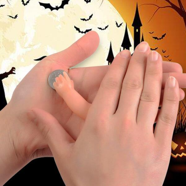 (60% OFF for Halloween)The Magic ghost hand and Light Thumb -- Magic Props