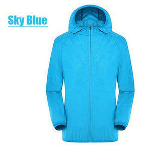 Ultra-Light Rainproof Qiuck-drying Windbreaker