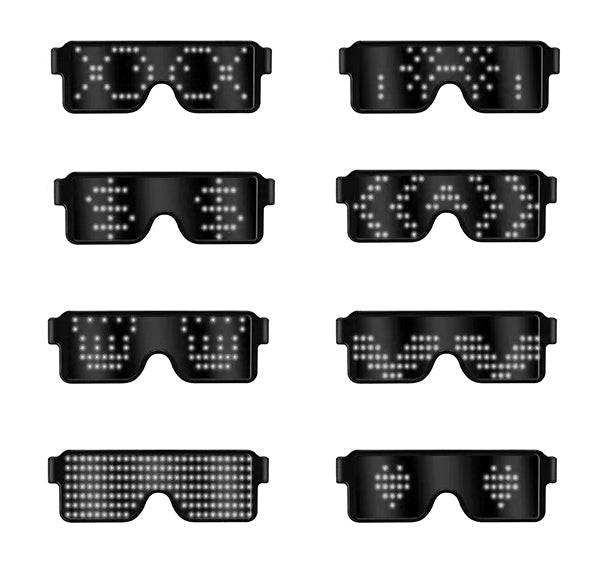 Last day promotion!--2019 LED Glowing Glasses
