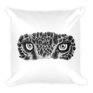Leopard Square Throw Pillow