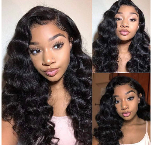Brazilian Loose Deep Wave Lace front Wigs