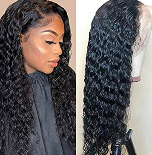Brazilian Deep Wave Lace front Wigs
