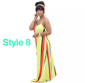 Sizzling Summer Sunshine Maxi Dress