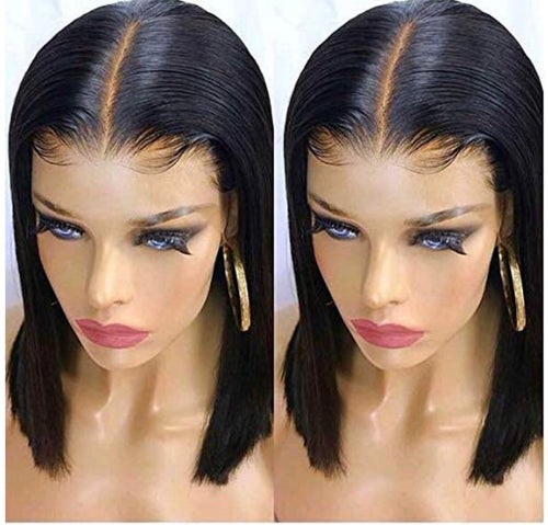 Human Hair Lace Front Wig  130% Density