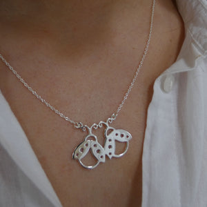 Friendship Necklace LadyBird Nature Lover