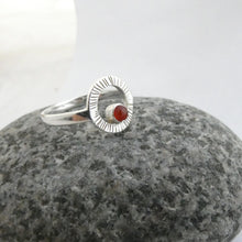 Load image into Gallery viewer, Lughnasa Ring with Carnelian