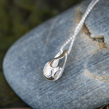 Load image into Gallery viewer, Bealtaine Festival of Fire Oxidised Sterling Silver Pendant