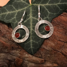 Load image into Gallery viewer, Lughnasa Earrings set with Carnelian