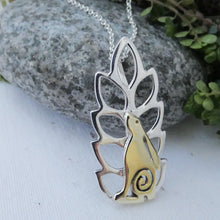 Load image into Gallery viewer, Hare in the Corn Pendant
