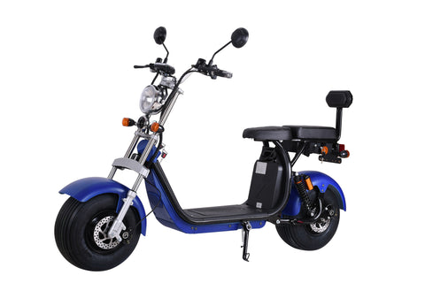 SCOOTY_Electric_Moped_X7_Citycoco_scooter_Fat_Tire_Blue