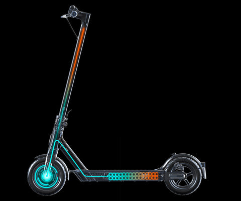KERS kinetic energy recovery system on Xiaomi M365 1s Electric scooter