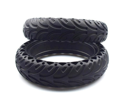 "Pack of 2 8.5"" inches solid puncture free and explosion proof honeycomb tires for Xiaomi M365 and Pro"