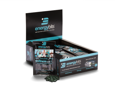 Organic Algae Spirulina Energybits Single
