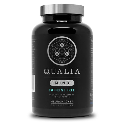 Qualia Mind Caffeine Free - Neurohacker Collective