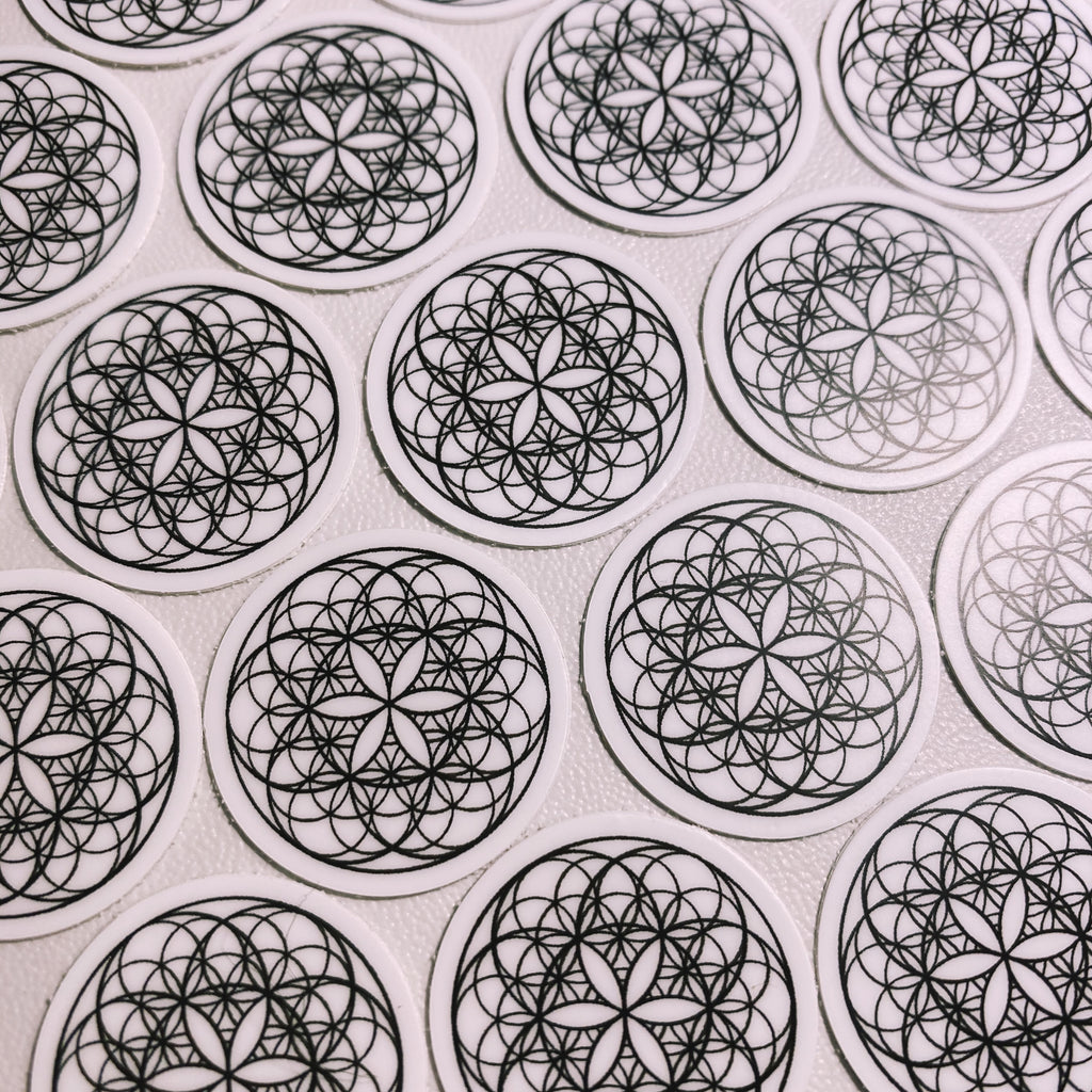 FLOWERS Mini Sticker