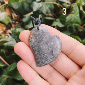 (1) Coral Fossil Pendant
