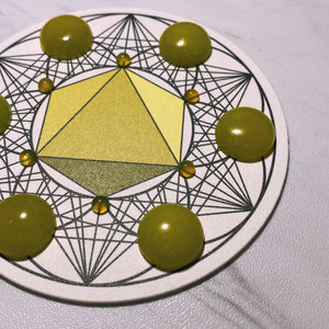 OCTAHEDRON Crystal Grid (CONNECTIONS)