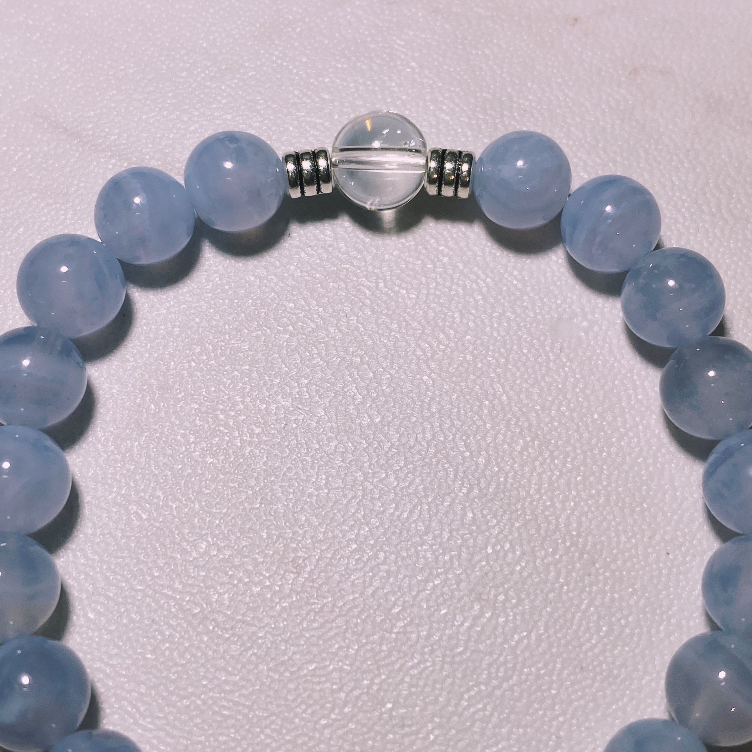 THE BLUE LACE AGATE