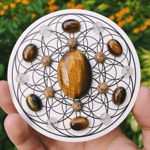 ARTEMIS Crystal Grid (FLOWERS)